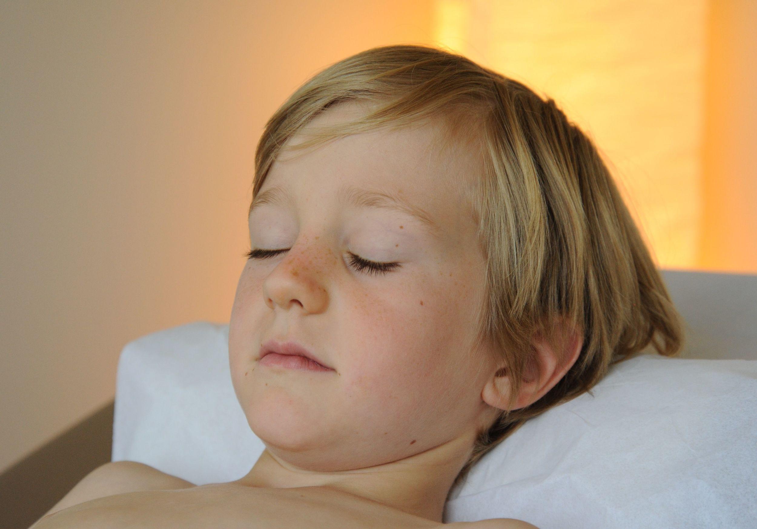 Pediatric Acupuncture; Photo Courtesy of Dave Clark