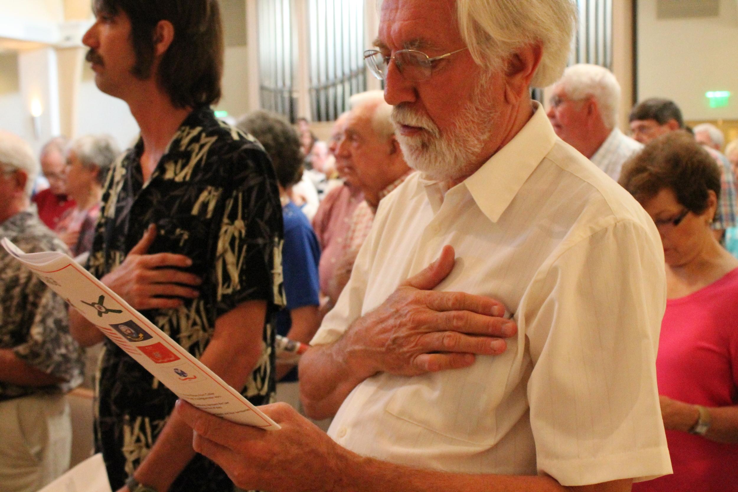 Grace Lutheran Church Memorial Day Service 2013
