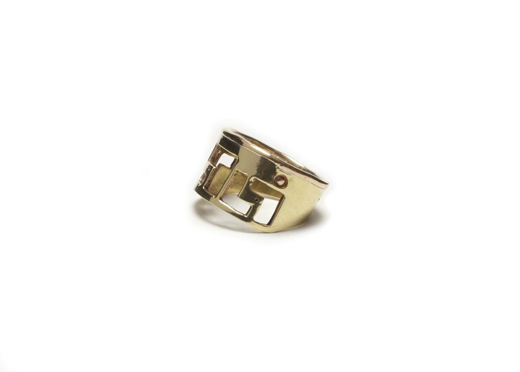 Greek Keys Ring