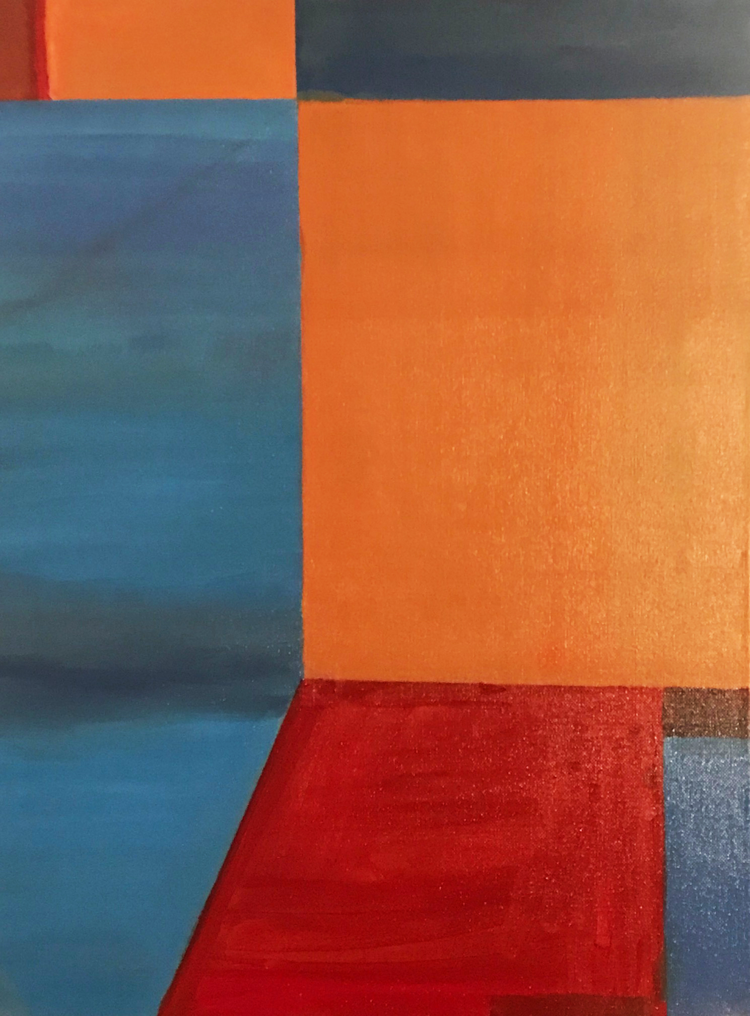 Untitled (Red and Blue)