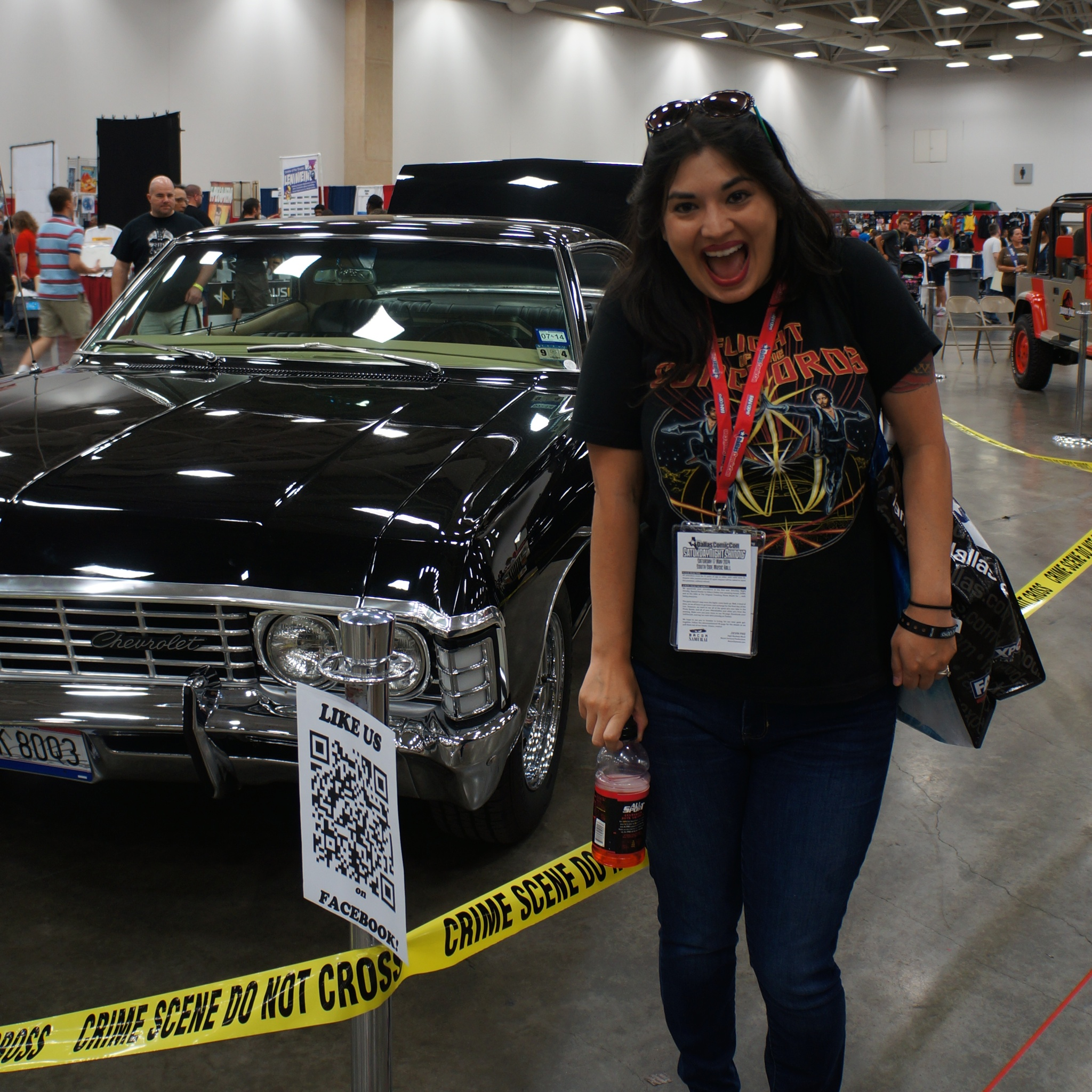 Dean's Impala from Supernatural.