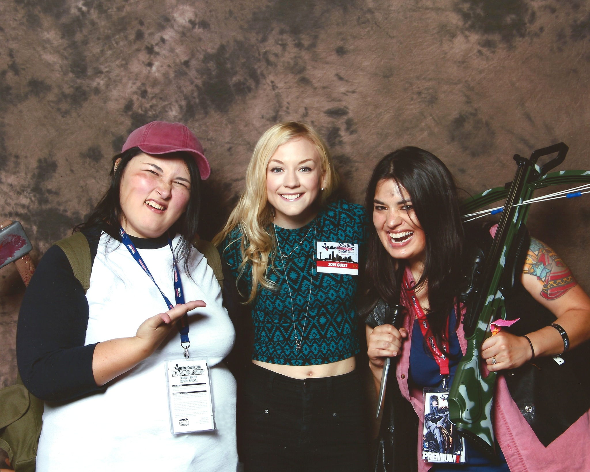 Emily Kinney is so cute!