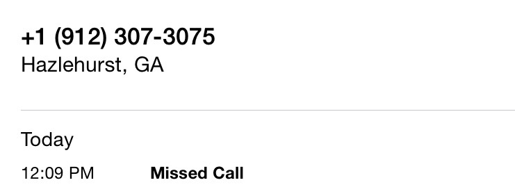 D'oh!  Missed my call!!!