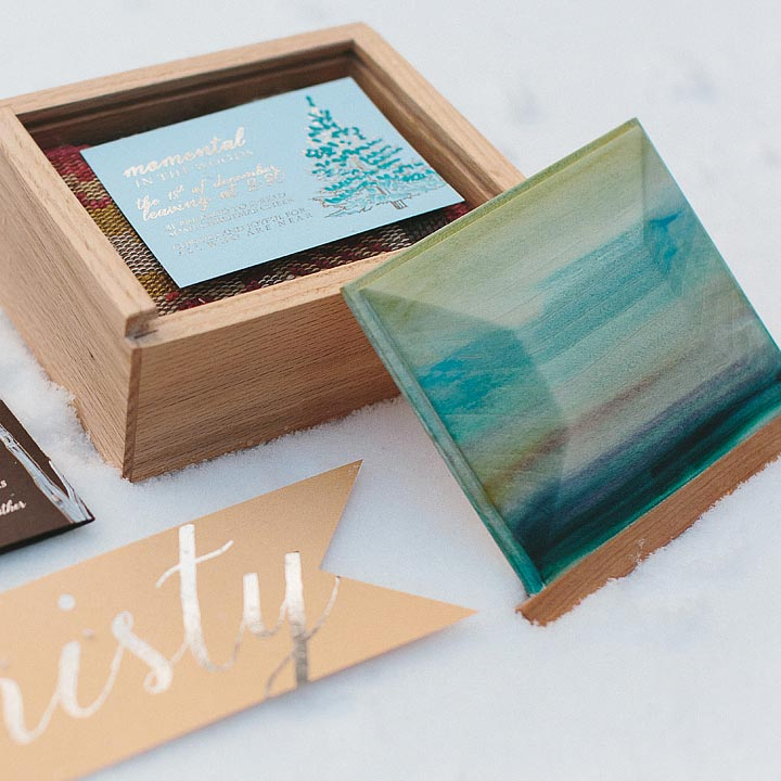 Custom Invitiation Box