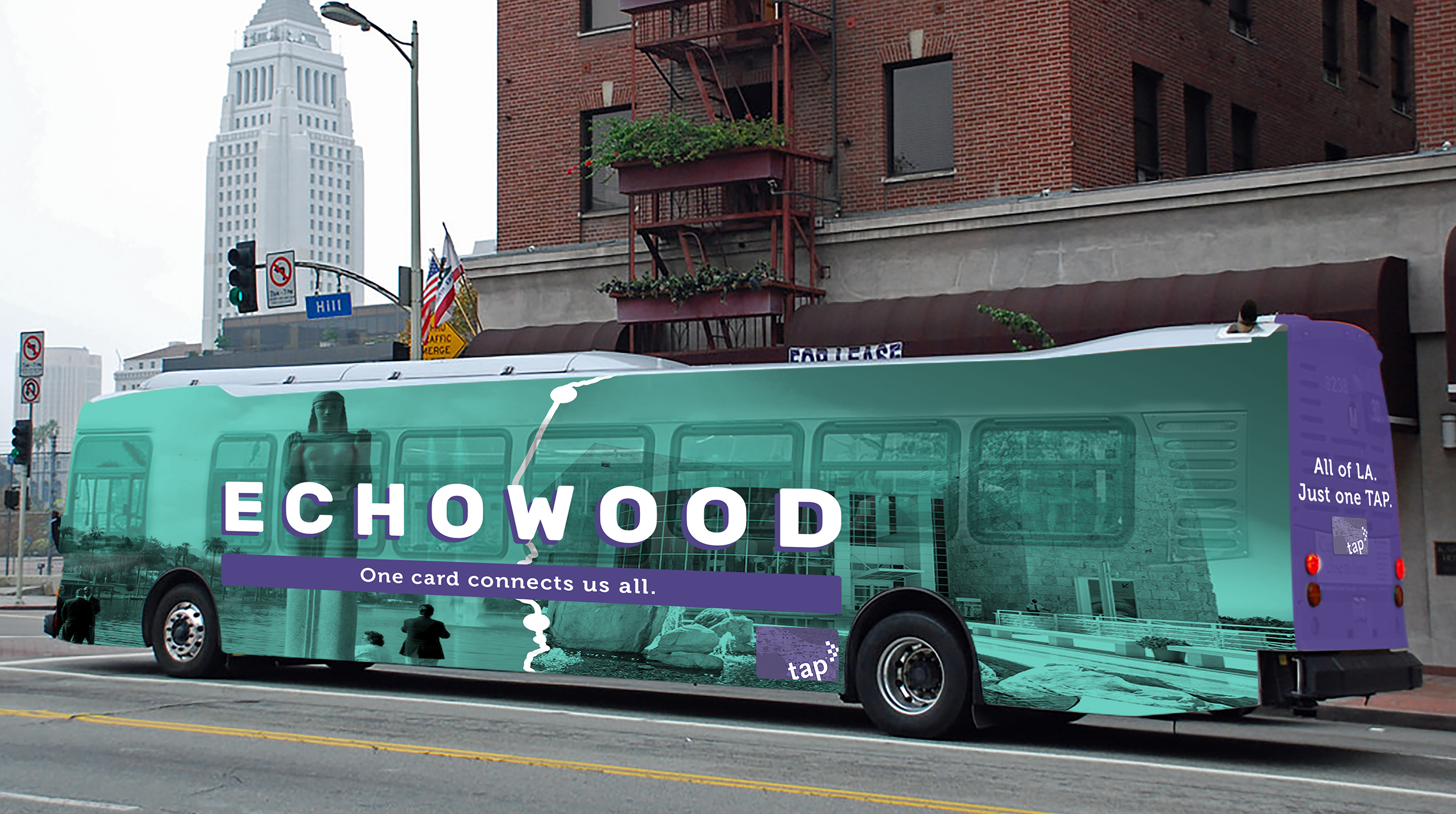 Select busses will feature route-specific neighborhood names.