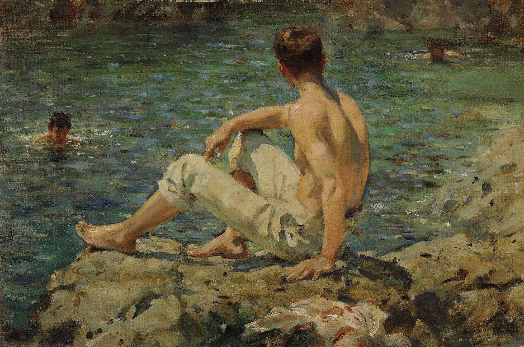 Henry_Scott_Tuke_-_Green_and_Gold,_1920.jpg