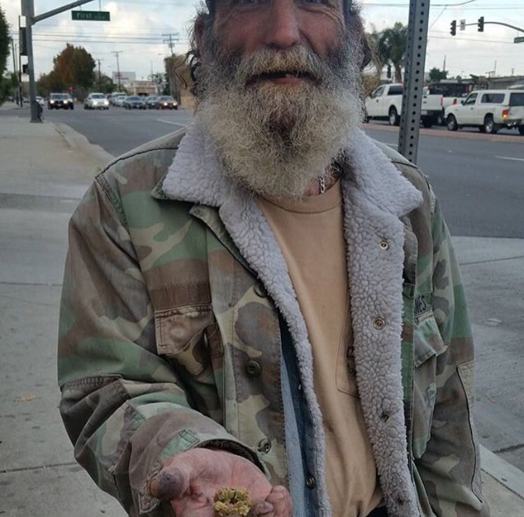Canna-Charity With Joints For The Homeless -