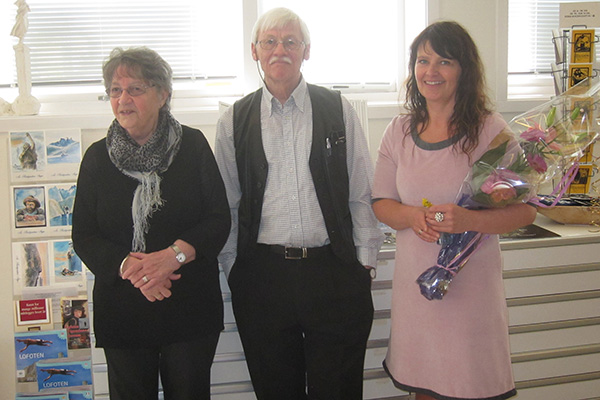 Hilde with Dagfinn Bakke and his lovely wife. Thank you for your kind words in the opening speech, Dagfinn!