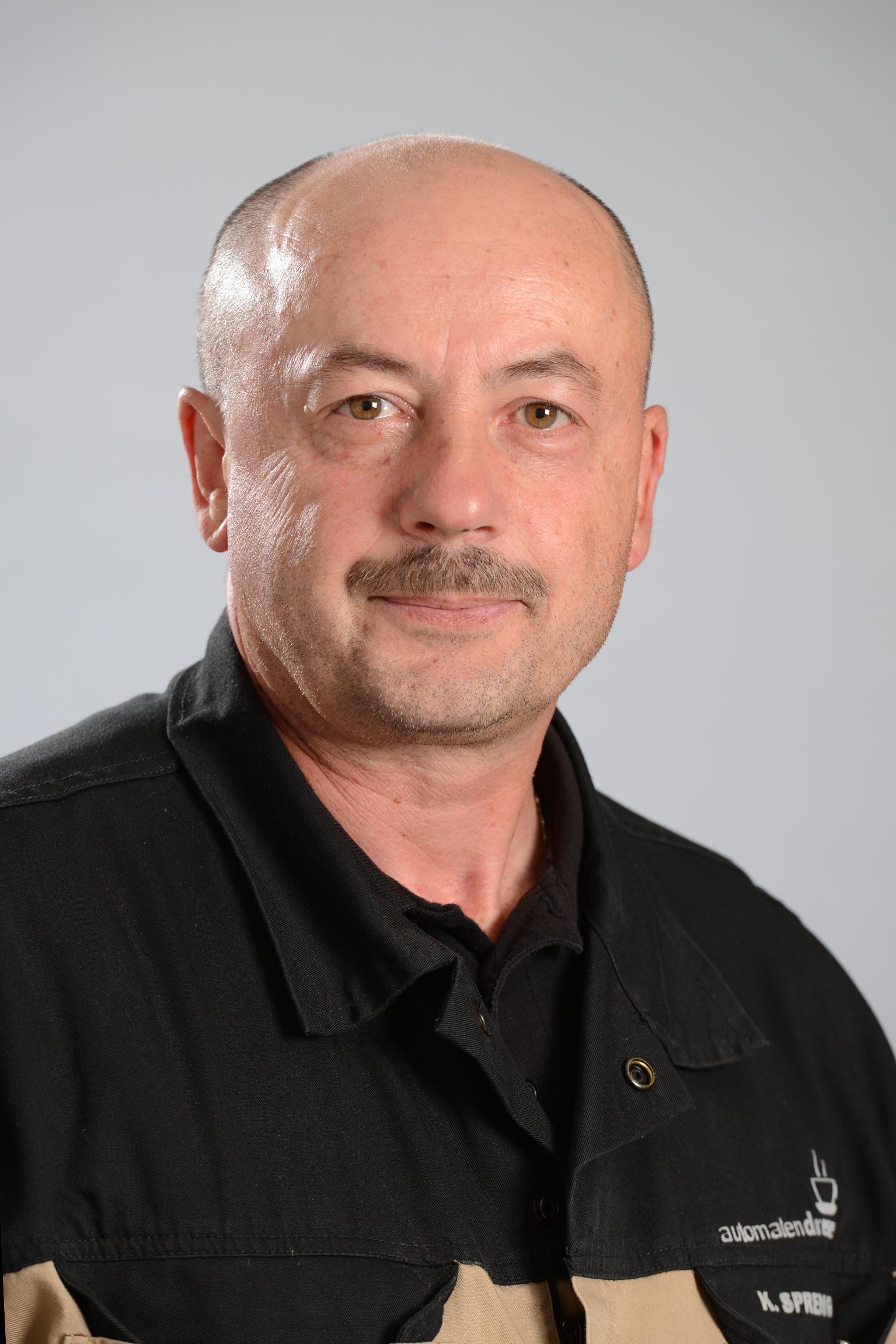 K. Sprenger  Automaten-Servicetechniker