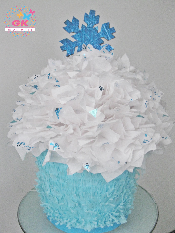 Cupcake Frozen Pinata