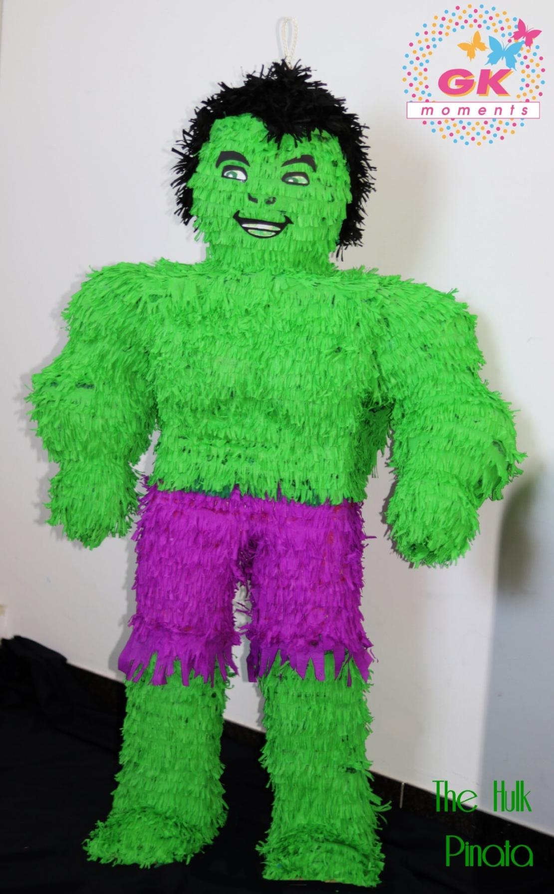 The Hulk pinata by GK Moments