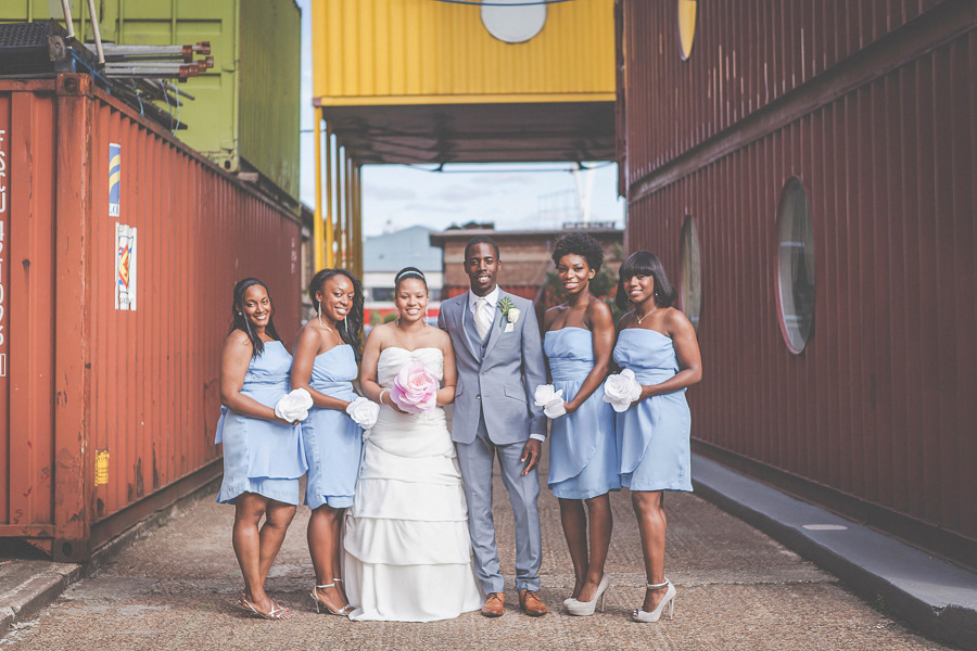 alternative wedding photographer at Trinity buoy wharf
