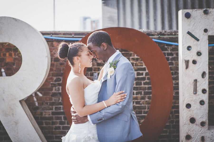 Alternative Wedding Photography at Trinity Buoy Wharf