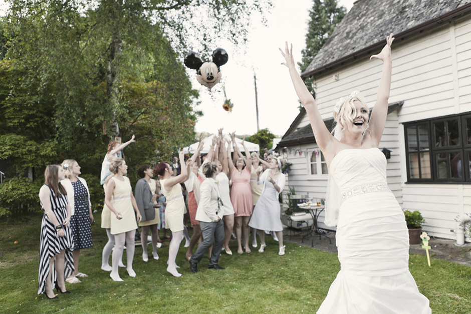 Alternative wedding photography in London