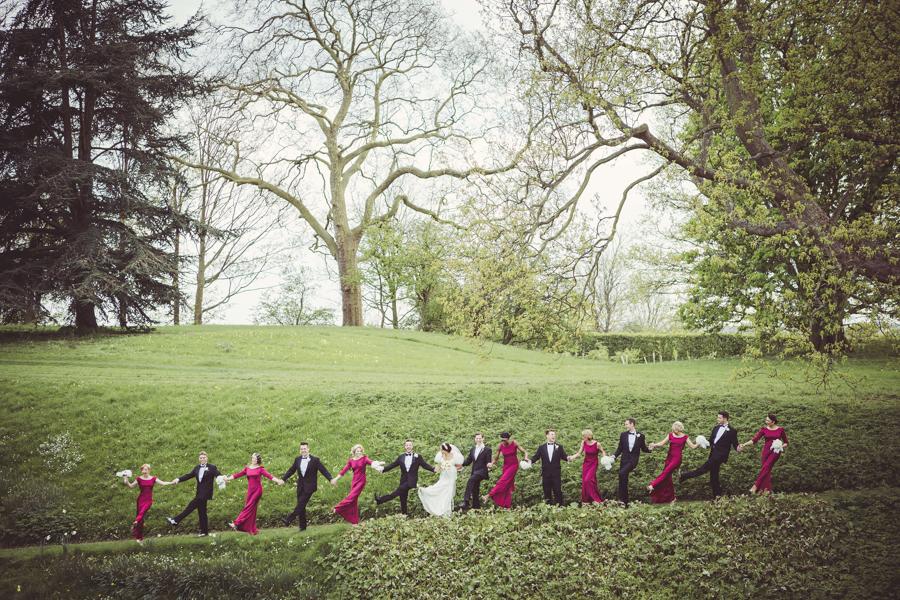 Wedding Party at Eltham Palace