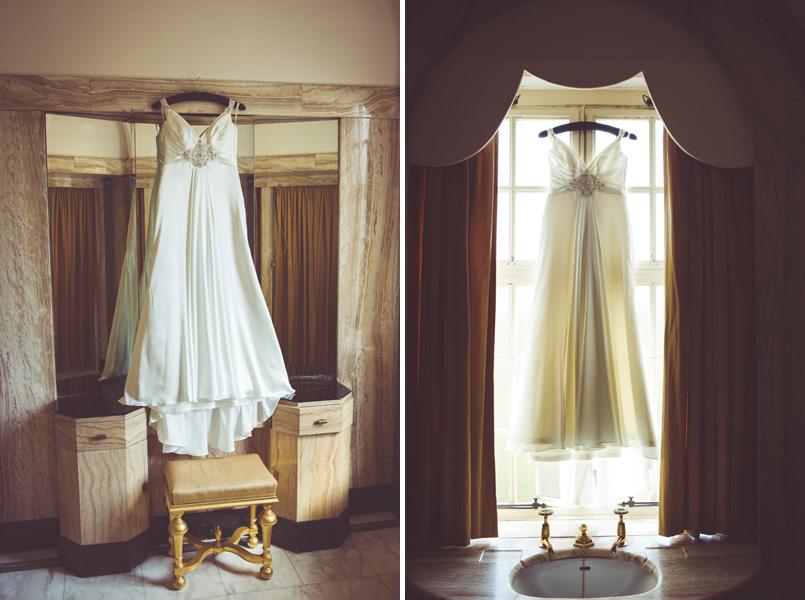 Maggie Sottero wedding dress at Eltham Palace