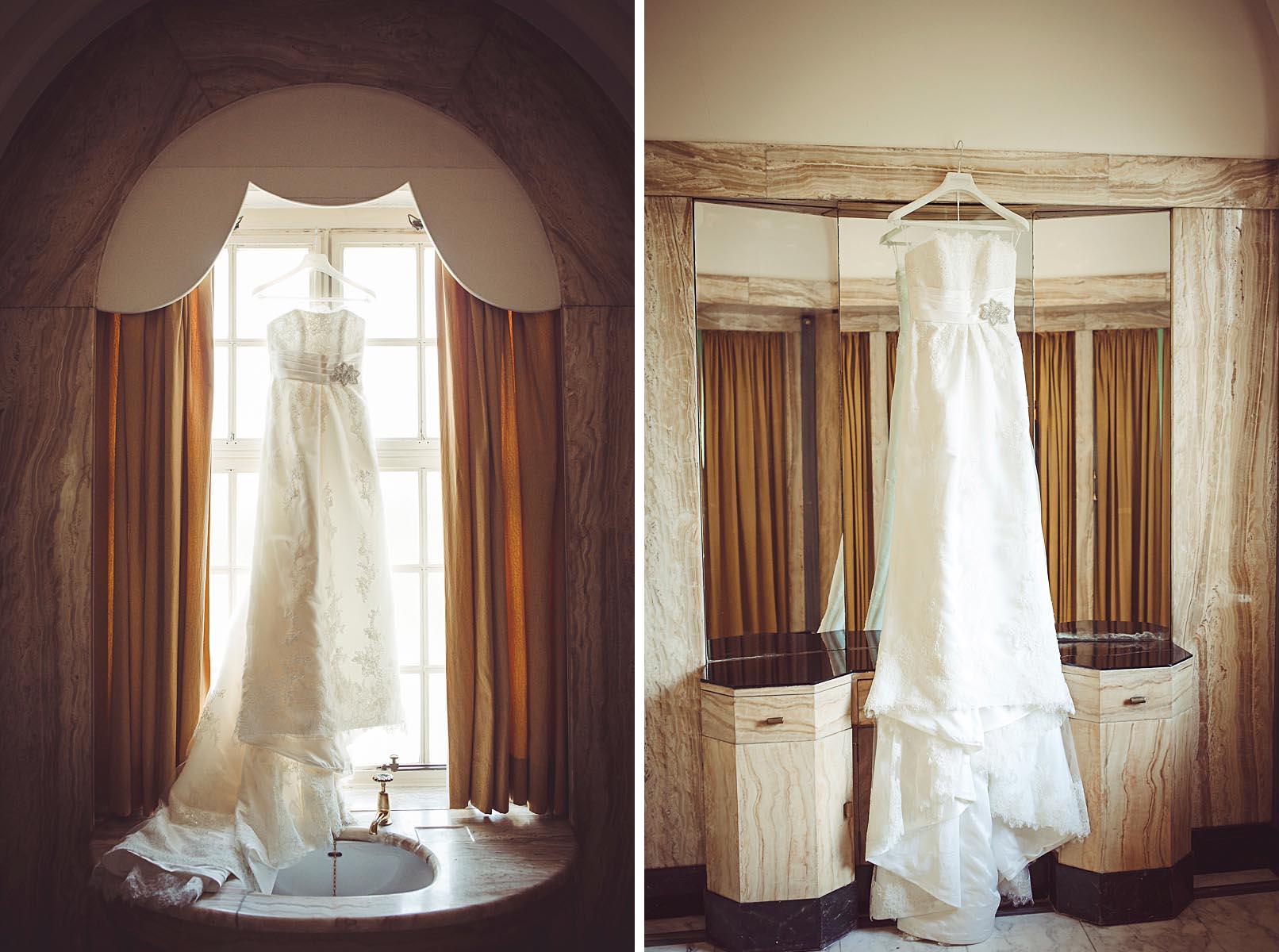 My Beautiful Bride photographs Peishan's wedding dress