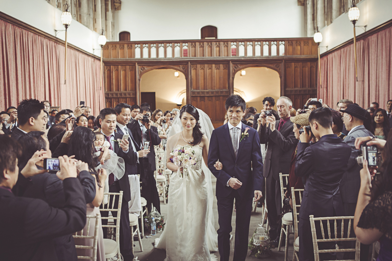 Wedding Ceremony in the Great Hall Eltham Palace