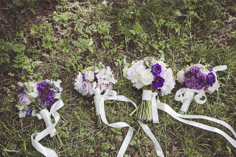 wedding at Eltham Palace - photograph of bouquets