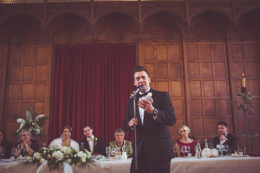 Best Man's speech at Eltham Palace