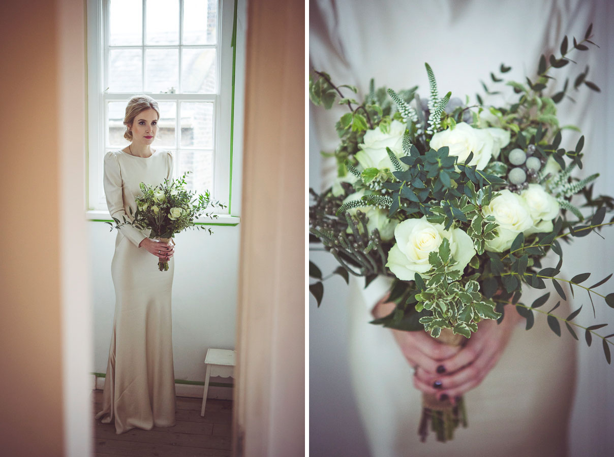 Wedding bouquet by Maura London