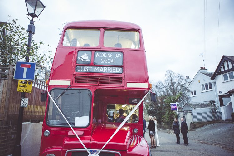 London red route master bus