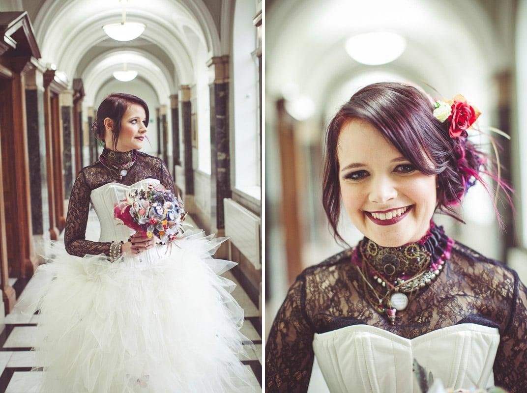 handmade wedding bouquet