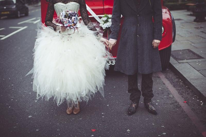 rock n roll wedding photography