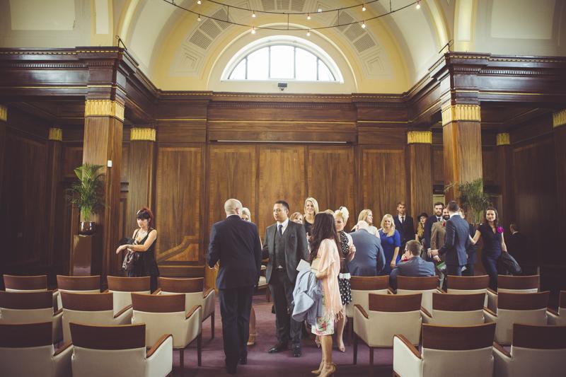 Council Chamber Stoke Newington