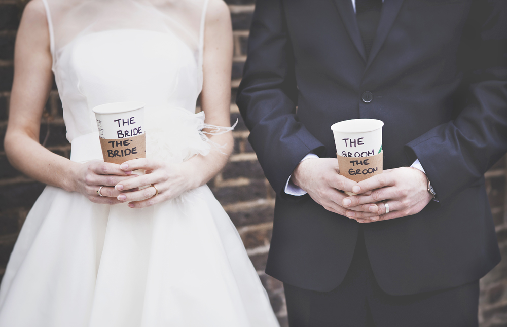 Borough Market alternative wedding photographed by My Beautiful Bride