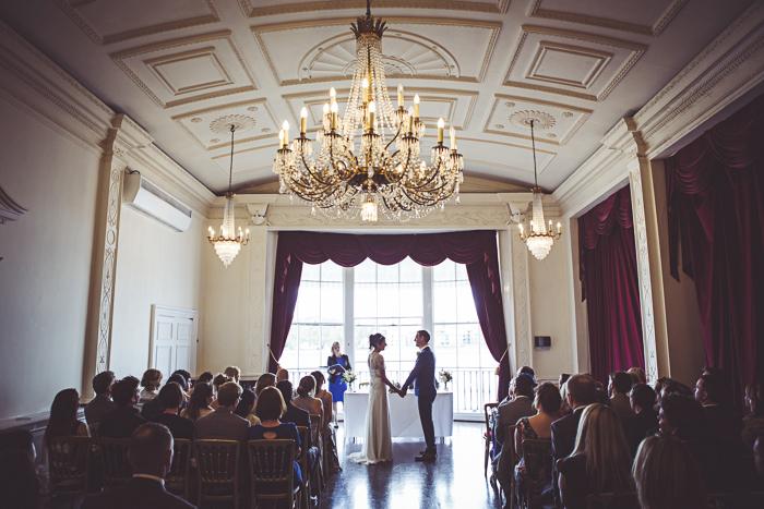 Alliea and Dan's South London wedding