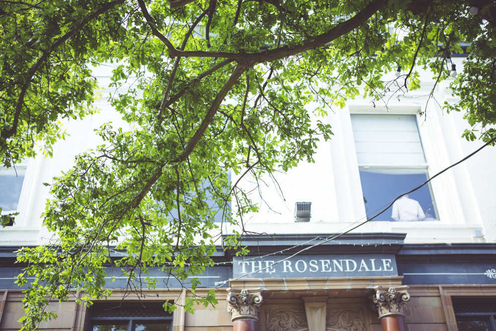 The Rosendale Pub wedding reception