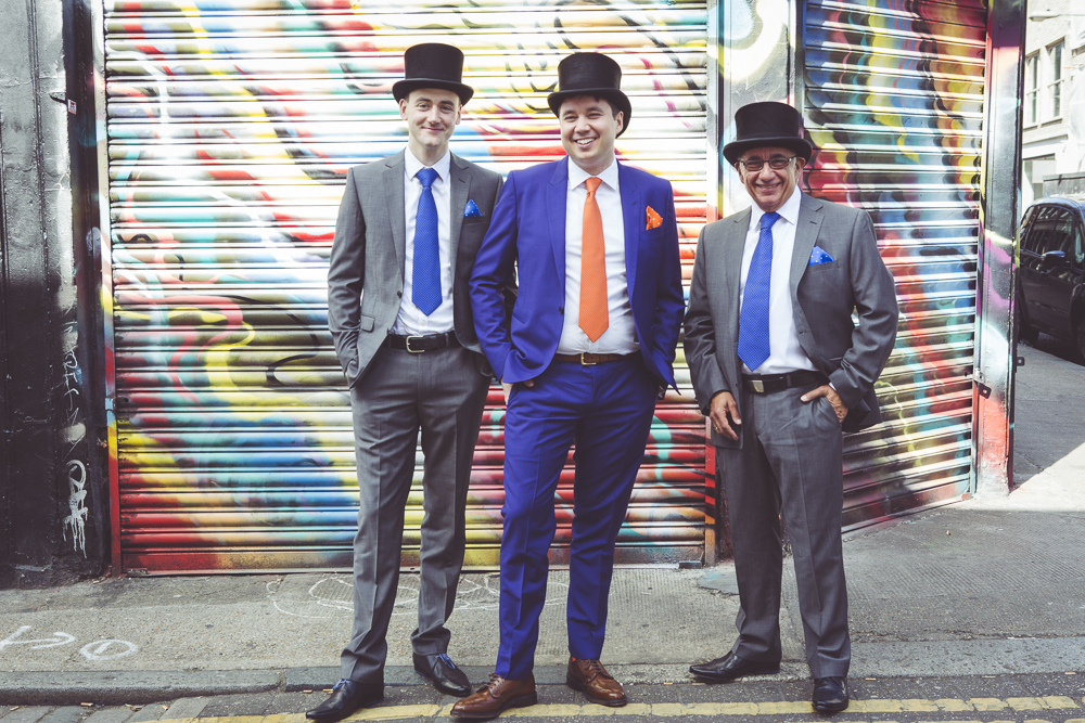 Wedding photography in Shoreditch