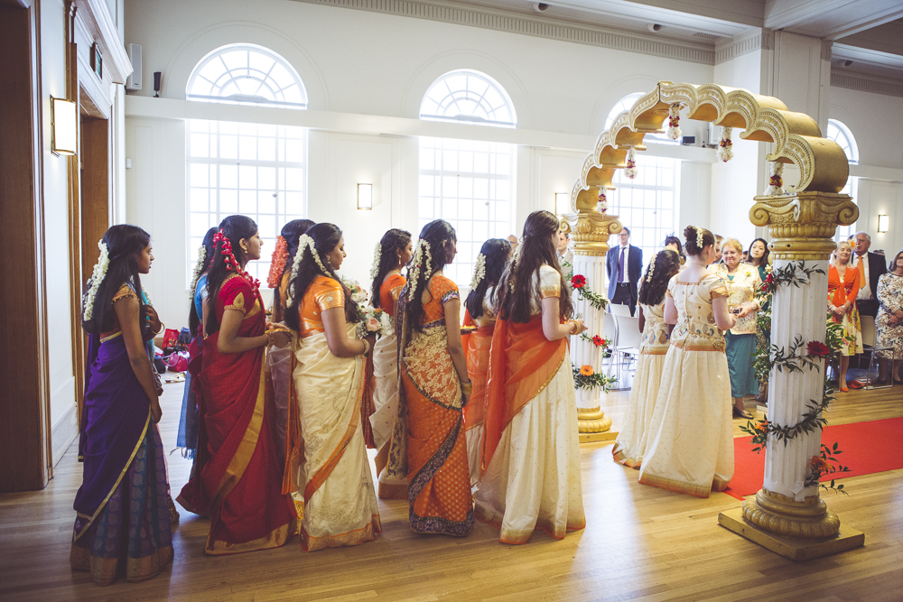 Tamil wedding at Hackney town hall