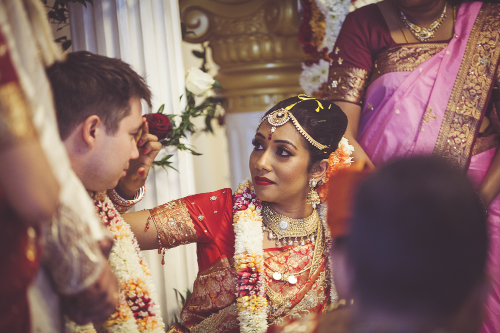 London groom and bride