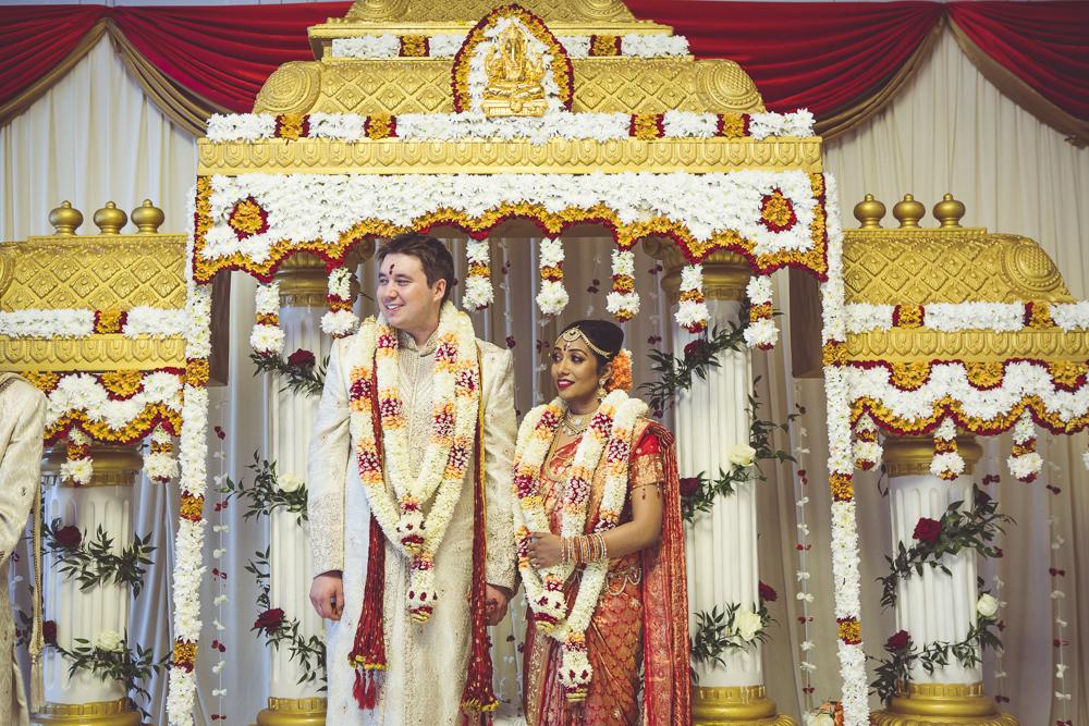 wedding ceremony in Assembly Hall Hackney