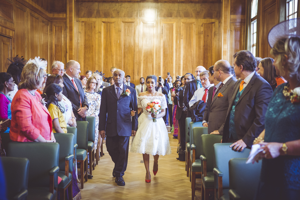 The wedding Chamber at Hackney Town Hall
