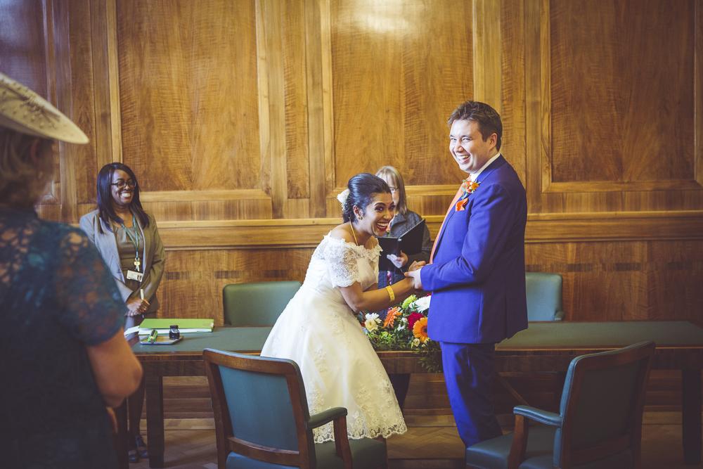 exchange of vows Hackney