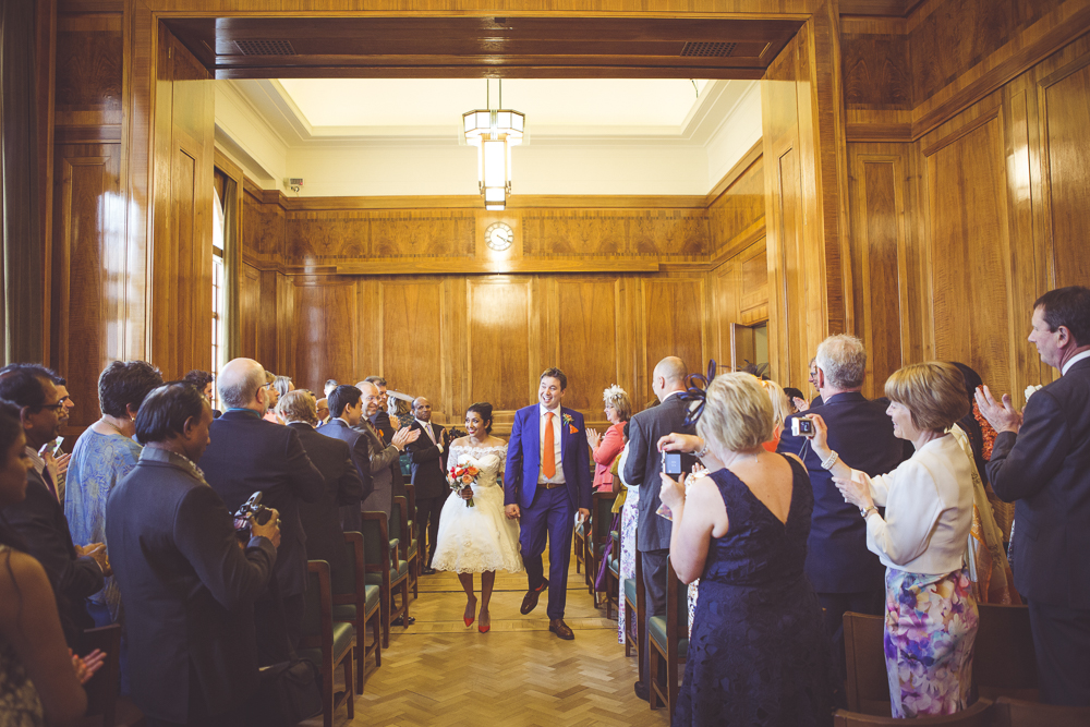 Hackney marriage of Rhys and Thubeena