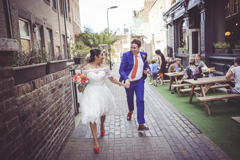 Newly weds Hackney