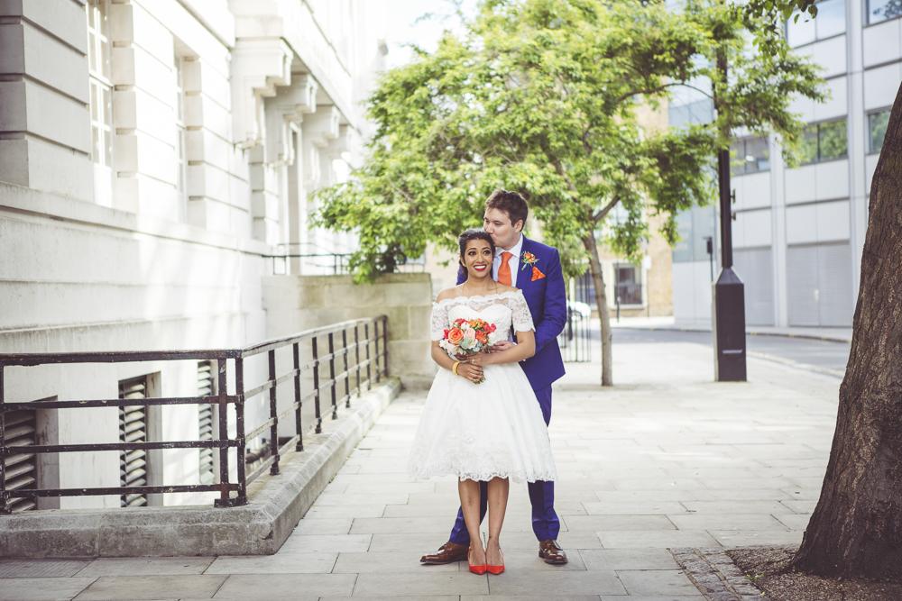 Spring wedding hackney
