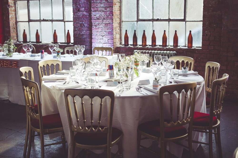 London wedding reception One Friendly Place