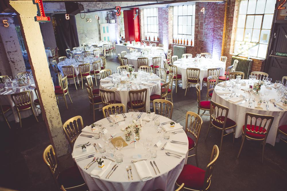 Greenwich wedding reception