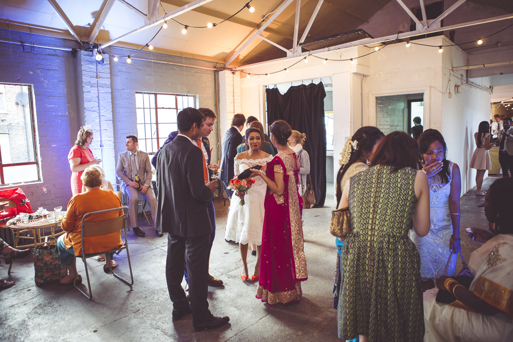 London Wedding at One Friendly Place