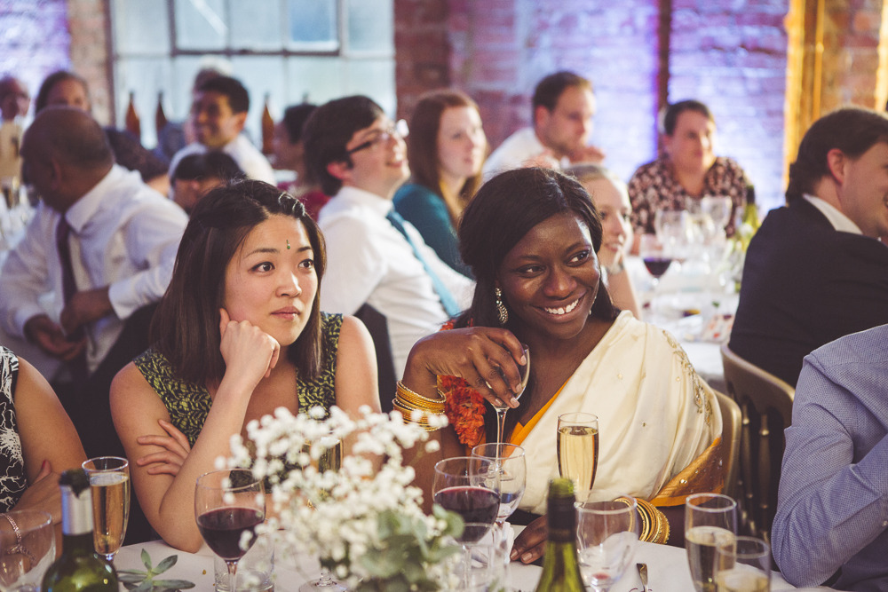 The London wedding of Rhys and Thubeena at Hackney Town Hall and One Friendly Place G  reenwich