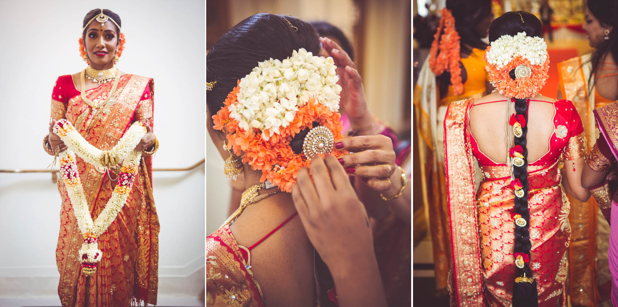 Thubeena's 2nd wedding sari