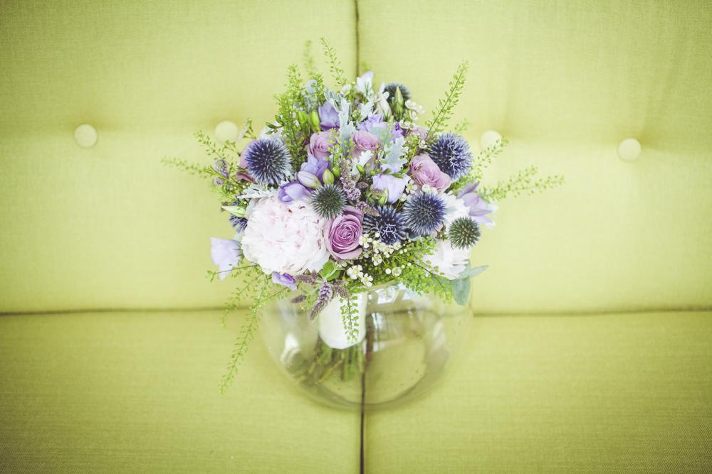 Nicole's wedding bouquet