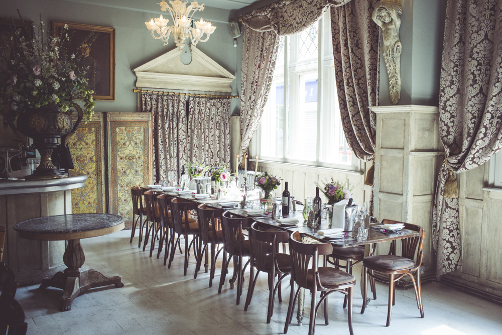 The Paradise by Way of Kensal Green wedding reception