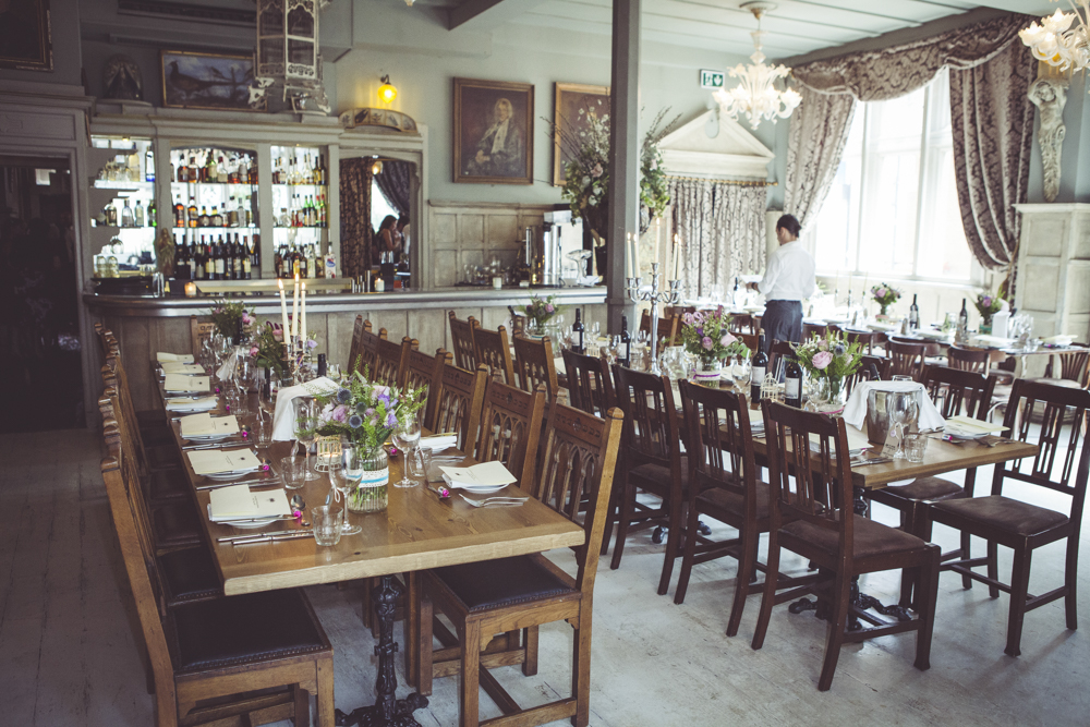 Dinning room at Paradise by Way of Kensal Green