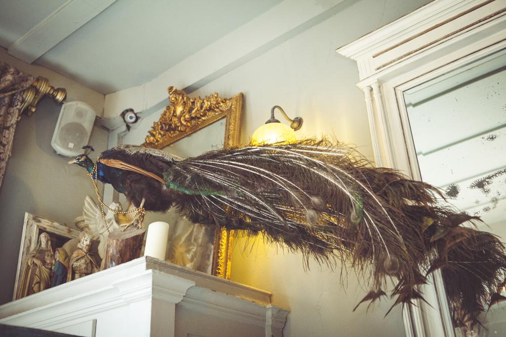 Strange wedding decorations